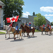Elkhorn, Manitoba - Canada Day 2017 Celebrations
