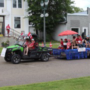 Elkhorn celebrated Canada Day with a full day of events, starting with a pancake breakfast  a spark show and fireworks in the evening.