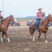 The McAuley Hoedown was held August 10-11, and included a ranch rodeo on the Friday night.