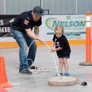 Redvers celebrated Canada Day with a parade, a kids fireman rodeo, a magic show, a dunk tank, free swimming, fireworks, a pitchfork fondue, and a live band.