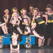 Moosomin's UDance held its annual dance revue on Wednesday, May 23 with the theme 'Dancin' in the Rain.' The show was held at the Moosomin Community Theatre.
