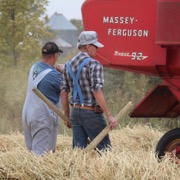 On September Long Weekend 2018 the Wilson family held their annual Old-Time Harvest.