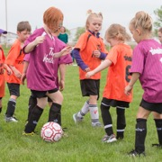A huge soccer tournament with around 450 kids was held in Moosomin on Saturday, June 9 at Bradley Park.