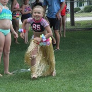 Moosomin Swimming Pool held a Hawaiian Fun Day Thursday July 26th that included hot potato with a coconut, the limbo, a hula costume relay, a mango soup spoon battle, and flip flop basketball.