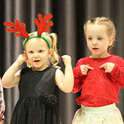The Moosomin Playschool and Kids' Kollege held their annual Christmas concert on Friday, December 14, 2018. The concert was held at the Conexus Convention Centre.