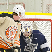 The Esterhazy Flyers and Rocanville Tigers played each other in Rocanville on Jan. 11, 2019 with the Flyers coming out on top 7-3
