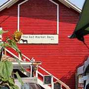 Red Market Barn Flea Market at Kenosee Lake - September 3, 2017