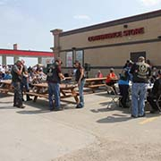 Rolling Barrage Appearance in Moosomin - August 14, 2017