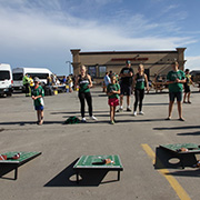Borderland CO-OP's Rider Tailgate Party on August 26, 2017.