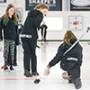 The girls South East District Athletic Association (SEDAA) Junior Curling Playoffs were held in Moosomin on Friday, Feb. 1, 2019. There were 10 teams curling in the spiel, including teams from Moosomin and Wawota.