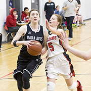 Senior Girls Basketball: Rocanville vs. Fillmore. Saturday, February 10, 2018.