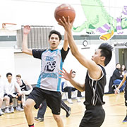 The Rocanville boys basketball team in action against Cowessess at regionals. Rocanville was the regional champion, moving them on to provincials March 22 - 24, 2018 in Prince Albert.