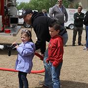 Members of the Moosomin Volunteer Fire Department held an Open House on Saturday, June 8, 2019.