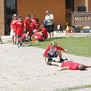 Fun in the Sun was held Tuesday, June 25, students from MacLeod Elementary school had a full day filled with Fun in the Sun activities.