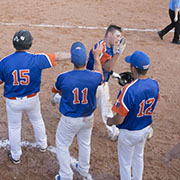 The Fleming Jets fastball team took on the New Zealand ISA Under 19 team in a game on Thursday, July 4, 2019 at Green Acres Ball Park in Fleming.
