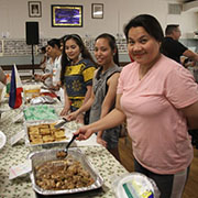 There was a huge crowd for the Moosomin Multicultural celebration held the Saturday of rodeo weekend at the Legion hall. East Indian food, Filipino food, Honduran food, Korean food and Ukrainian food were all served until they were sold out. There was also entertainment, including singing and dancing.