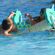 It's pool season, and kids are taking full advantage of the public swimming at Moosomin swimming pool.