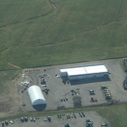 Aerial photos taken on July 29, 2019 of Moosomin, SK and area.