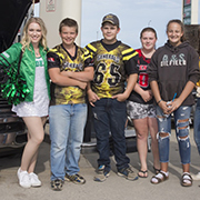 Borderland Co-op hosted their 9th annual Tailgate Party on Sunday, August 25 at the Moosomin C-Store on the Trans-Canada Highway.