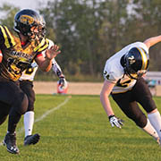 The Moosomin Generals played their first RMFL game on Friday, Sept. 7, 2018.