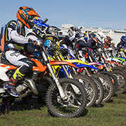 The St. Lazare Outlaw Scramble marked Round 5 of the Manitoba Dirt Riders Manitoba Cup on September 21-22, 2019. There were146 bikes for the Saturday fun race and 156 bikes for the Sunday points race. The track for the race is located in the valley just east of St. Lazare.