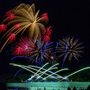 Living Skies Come Alive fireworks competition at Moosomin Regional Park saw Canada compete against the Philippines in two nights of stunning fireworks displays over Moosomin Lake on the August 3 & 4, 2019.
