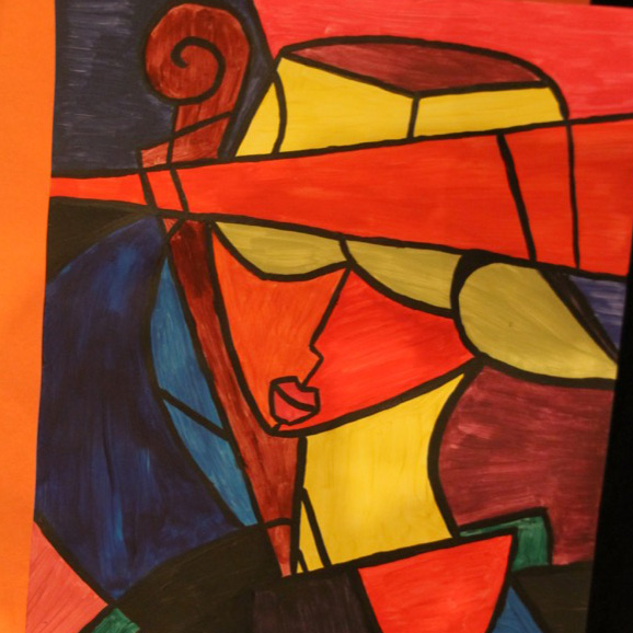 McNaughton High School hosted an art show featuring the artwork of Grade 10, 11 and 12 students on Thursday, January 18, 2018.