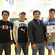 The sixth annual Pinoy Moosomin Community basketball tournament kicked off withopening ceremonies on Sunday, November 19 at the McNaughton High School gym.