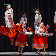 The internationally renowned Poltava Dancers performed on Friday, November 17, 2017 at the Conexus Convention Centre in Moosomin.