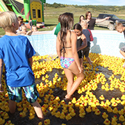 There was a great crowd on hand for the 2019 Tantallon Duck Derby on September 7, 2019