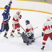 Big Six Semi-Final: Wawota Flyers vs Carnduff Red Devils. Thursday, March 8, 2018
