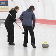 2018 New Years Day Curling at Welwyn
