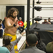 CWE wrestling came to Moosomin as part of its