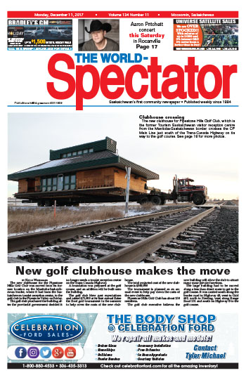 New golf clubhouse makes the move