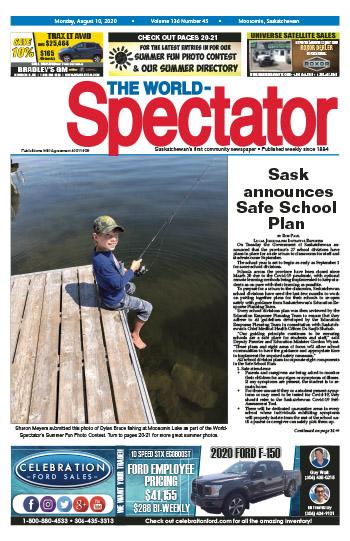 Sask announces Safe School Plan