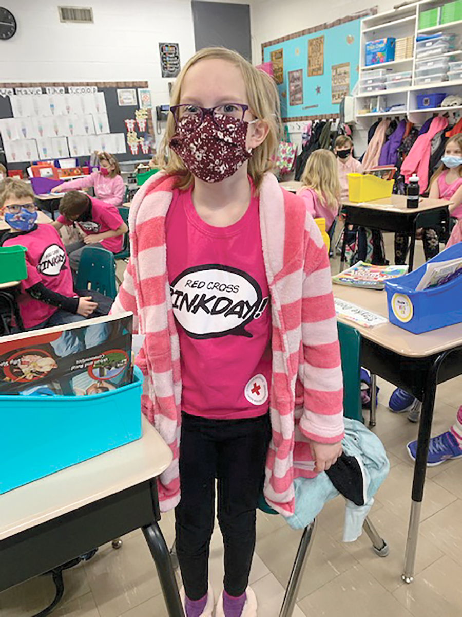 MacLeod Elementary Pink Shirt Day