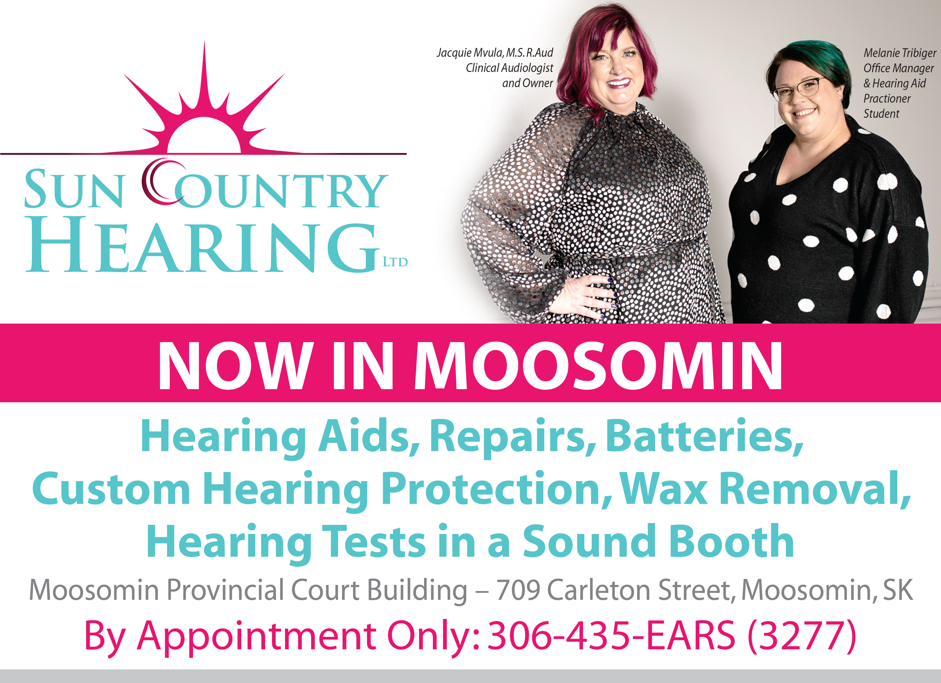 Audiologist in Moosomin