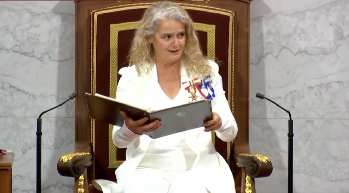 Governor General Julie Payette delivers the Speech from the Throne September 23