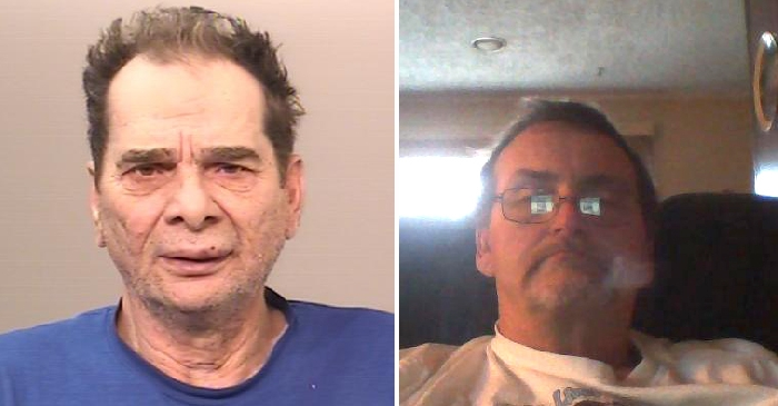 Police are looking for information on where Frederick Stockwell, left, and Edward Reibling of Brantford, Ontario were and who they may have interacted with in the time leading up to their deaths in Moosomin.