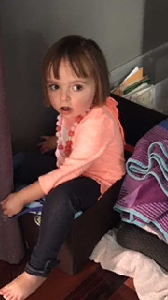 Six year old Emma O'Keefe was found safe inside a vehicle that was abandoned in an industrial area of North Battleford.