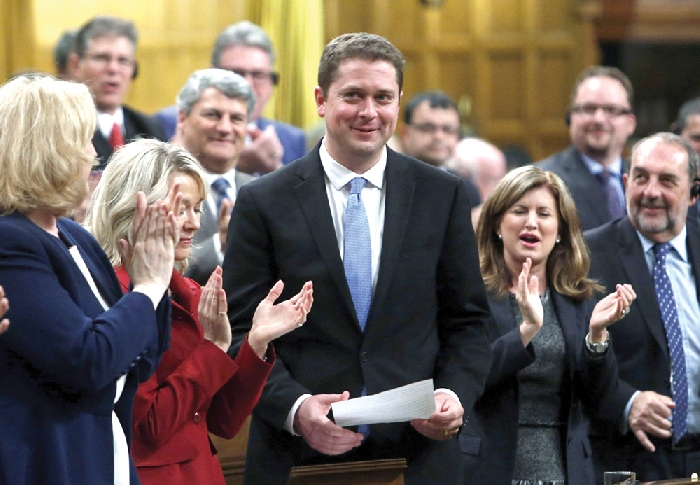 Federal Conservative leader Andrew Scheer will visit Moosomin in February for a pro-pipeline rally on Saturday, February 16.