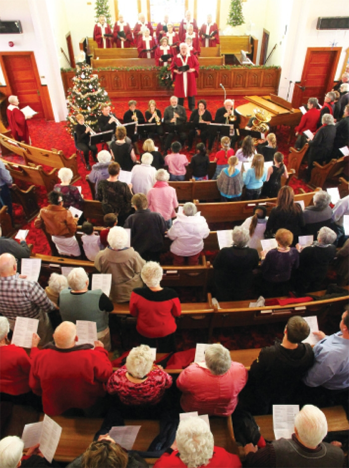 Moosomin Carol Festival coming up: Moosomin's annual Carol Festival is coming up Sunday, December 3 at Bethel United Church. There will be two performances, at 2 pm and 7 pm. Donations will be accepted for the Moosomin and Rocanville Food Banks.