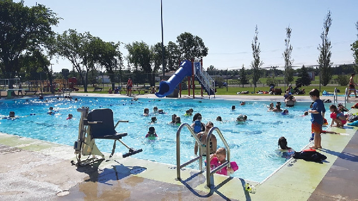 The D.A. MacKenzie Aquatic Centre in Esterhazy is already having a busy summer!
