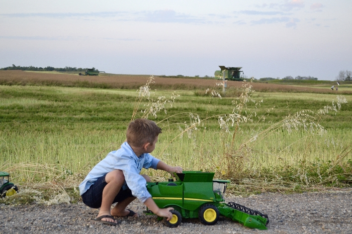 Chelsea Warkentin submitted this photo for our harvest photo contest