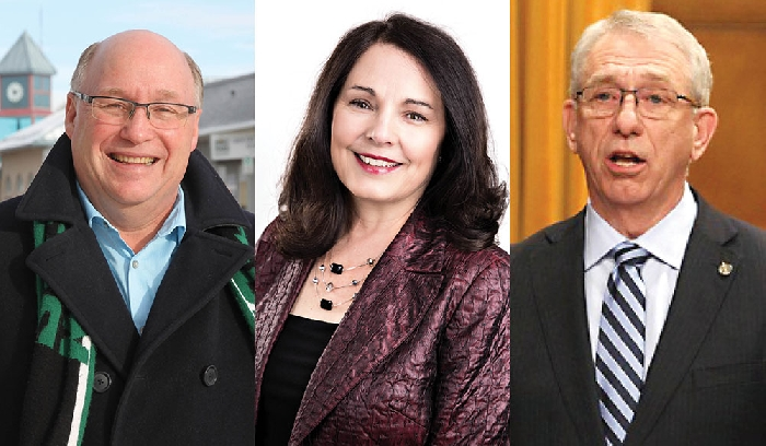 Souris-Moose Mountain - MP Robert Kitchen - Yorkton/Melville - MP Cathay Wagantall, Brandon-Souris - MP Larry Maguire