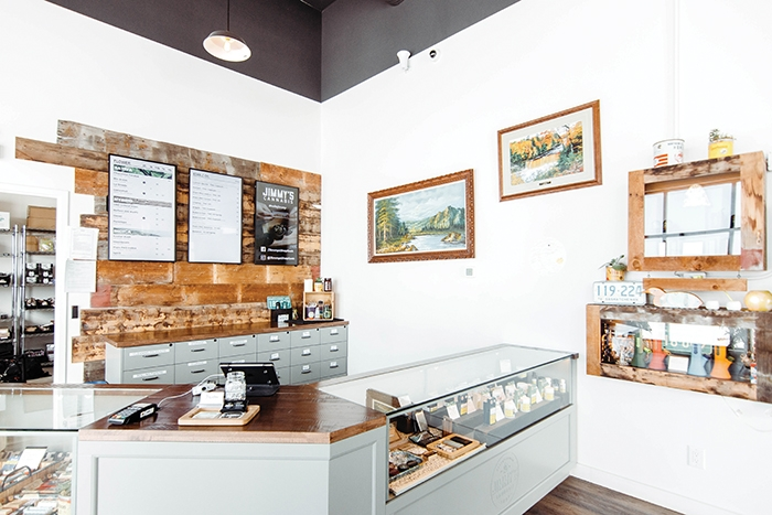 The Jimmy's Cannabis shop in Martensville. The Moosomin location at 506 Main Street will open this Saturday.