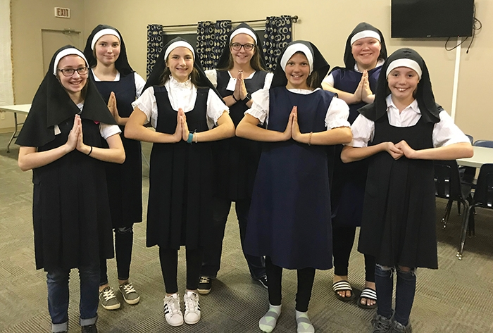 Some of the nuns in the Sound of Music.
