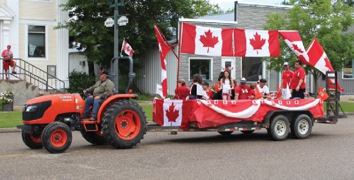 Elkhorn Canada Day parade from 2018