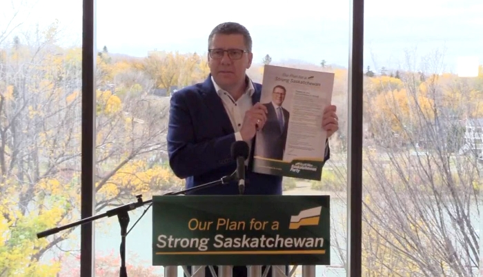 Premier Scott Moe and Opposition Leader Ryan Mieli did most of their campaigning in the cities of Regina and Saskatoon during the provincial election. Scott Moe unveiled the Saskatchewan Party platform at an event in Saskatoon.