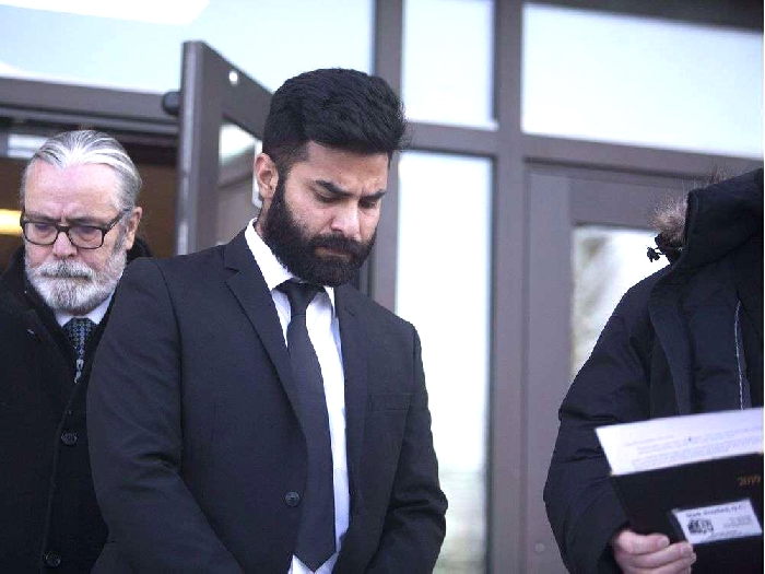Jaskirat Singh Sidhu leaves court after pleading guilty